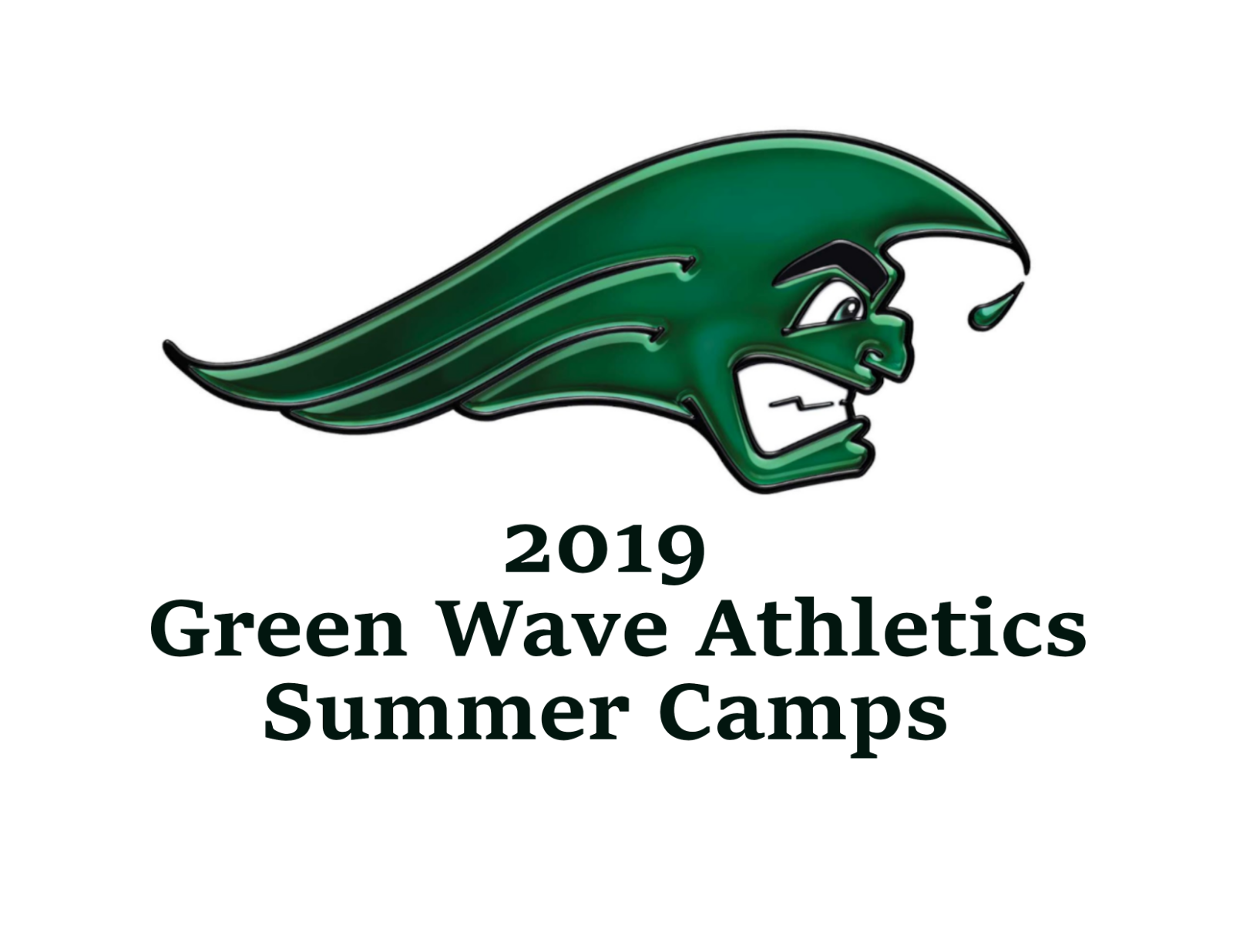 2019 Green Wave Athletics Summer Camps