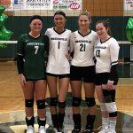 Girls Varsity Volleyball beats Sidney  3 – 0 on Senior Night