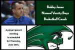 Bobby Jones Named GHS Basketball Coach