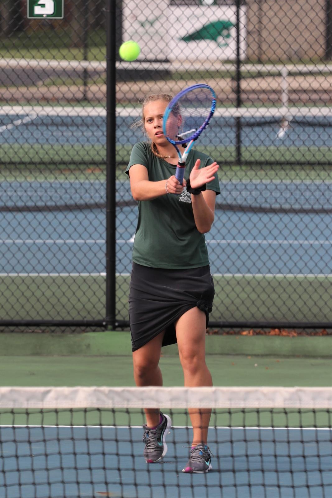 Girls Tennis vs Butler