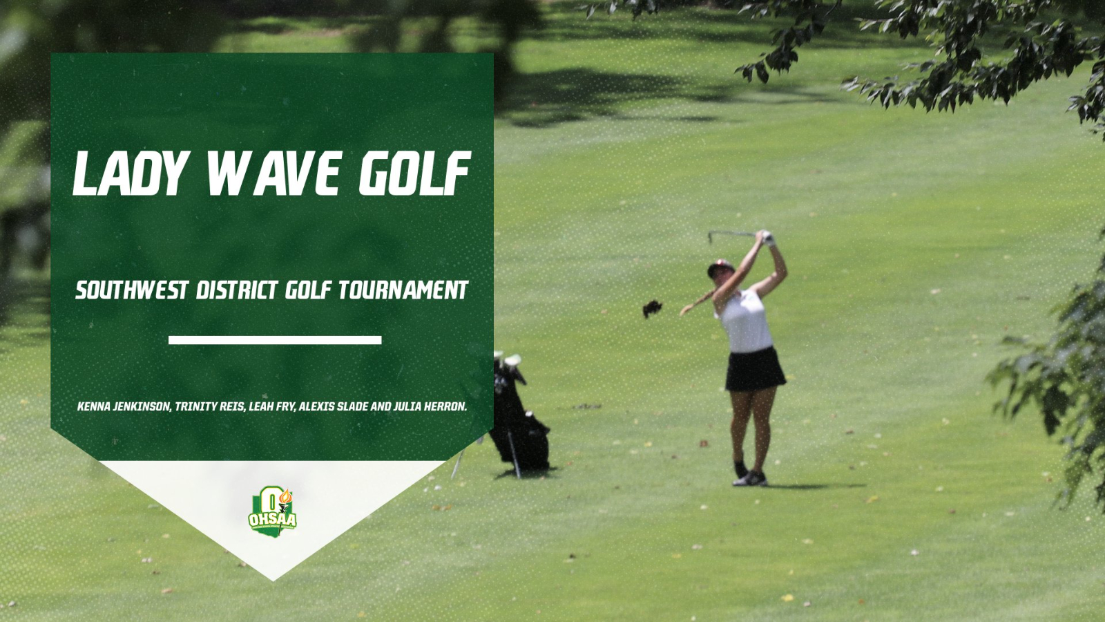 Lady Wave Golf to Compete at District Tournament