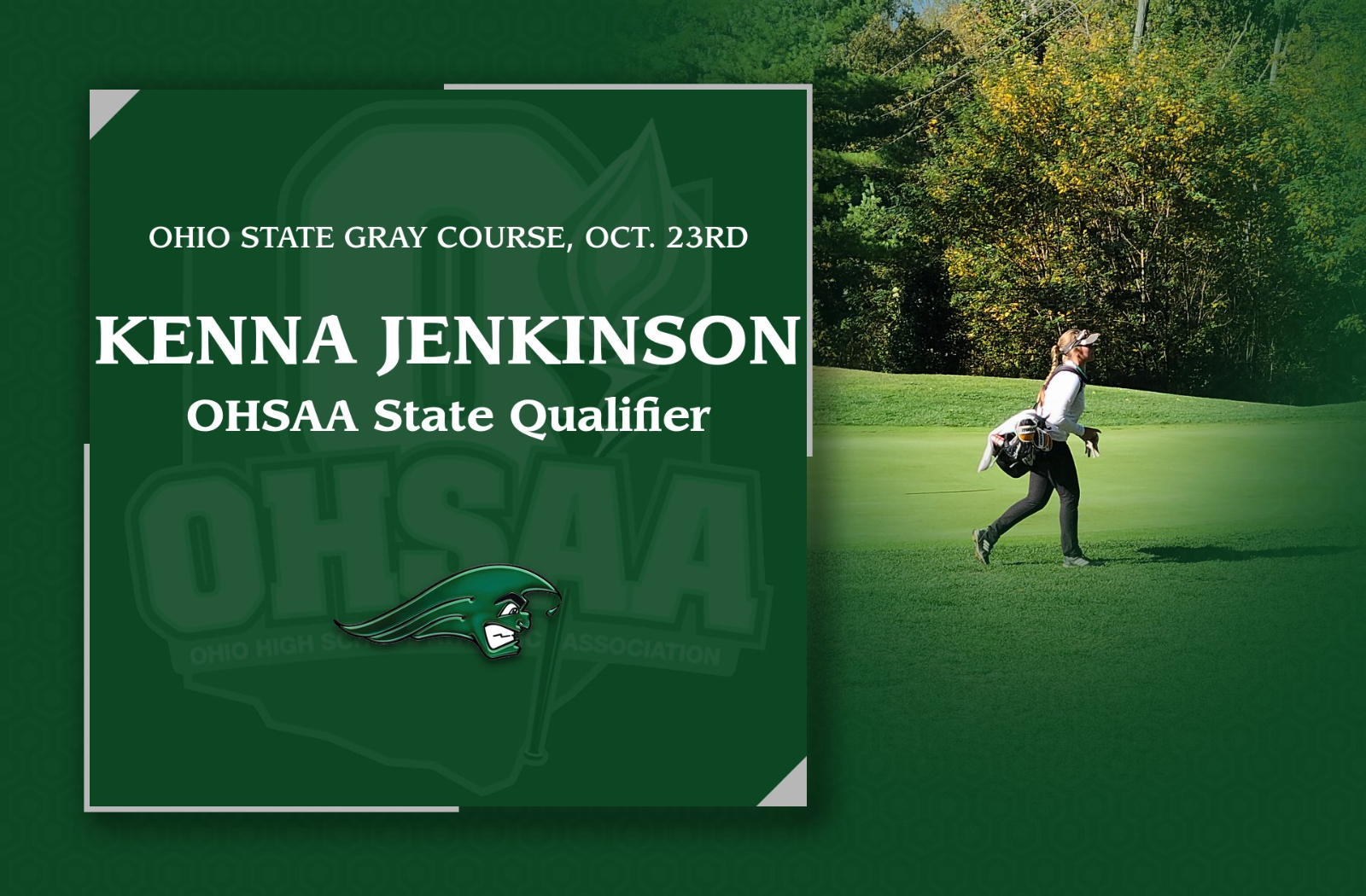 Jenkinson Qualifies for OHSAA State Golf Tournament!