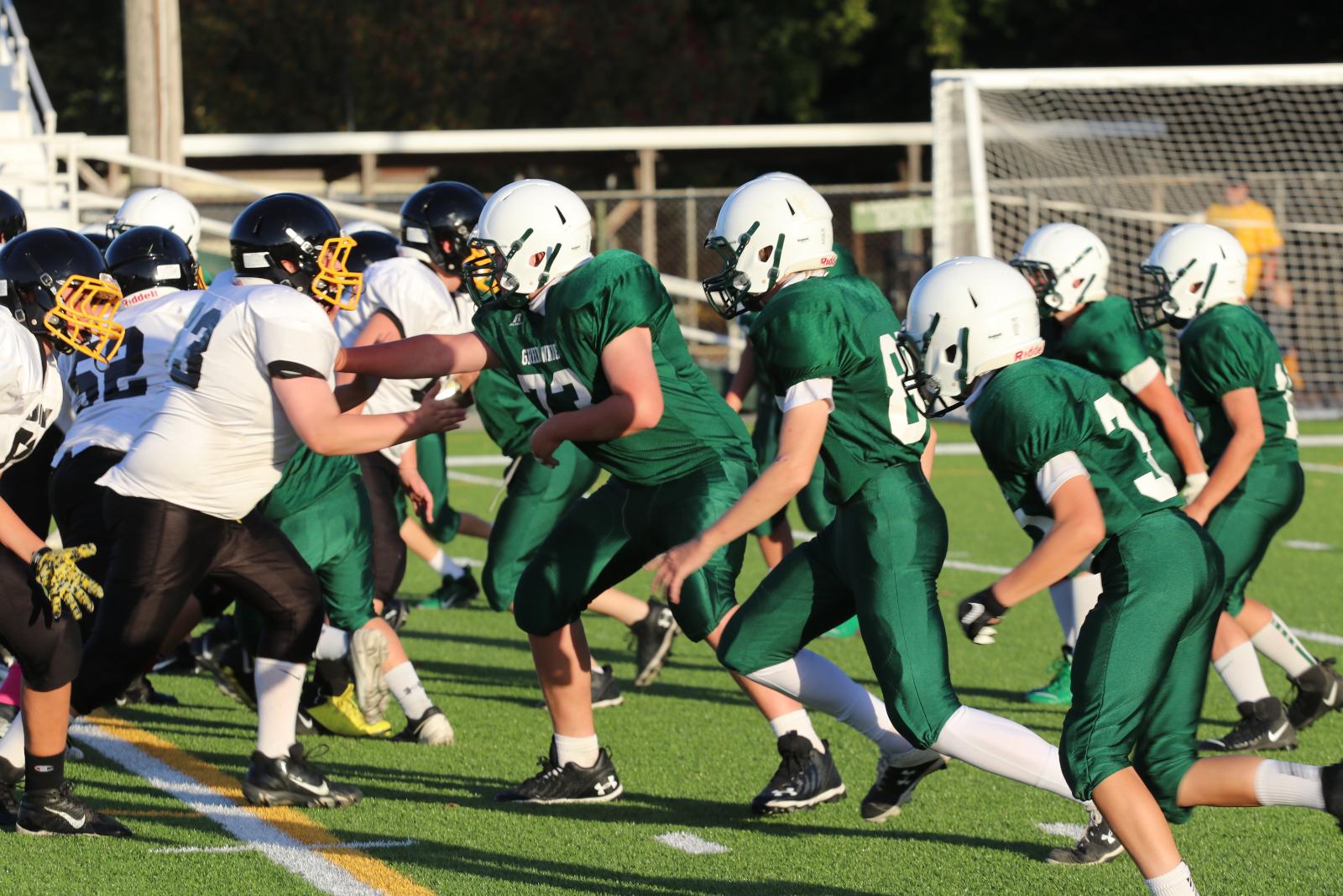 7th Grade Football vs Sidney