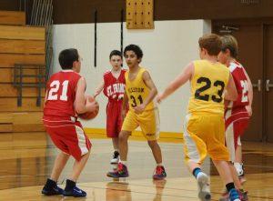 7th Boys Basketball vs SFX 11/17/16