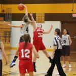 Pellston Girls 7th Grade Basketball falls to Onaway High School 36-19