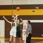 Pellston High School Girls Varsity Basketball beat Forest Area High School 36-34