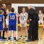 Pellston High School Girls Junior Varsity Basketball falls to Gaylord St Mary 61-9