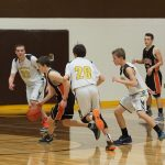 Pellston High School Boys Junior Varsity Basketball falls to Mancelona High School 49-26
