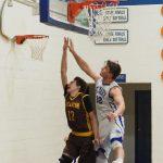 Pellston High School Boys Varsity Basketball falls to Gaylord St Mary 47-44