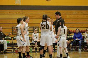 JV Girls Basketball vs Onaway 2/20/18
