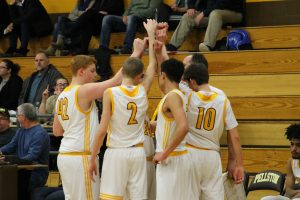 Boys Varsity Basketball vs Gaylord St. Mary 2/21/18