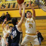 Boys Varsity Basketball falls to Gaylord St Mary 59 – 49