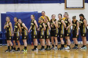 Varsity Girls Basketball Districts vs Harbor Light