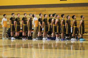 Varsity Boys Basketball Districts vs Harbor Light  3/7/18