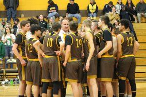 Varsity Boys Basketball Regionals vs Cedarville 3/12/18