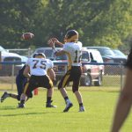 Boys Junior Varsity Football falls to Hale 52 – 14