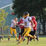 Boys Varsity Football falls to Posen 50 – 22