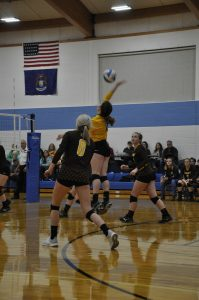 Volleyball Districts vs Mackinaw City 10/30/18