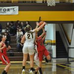 Girls Varsity Basketball falls to Onaway 58 – 20