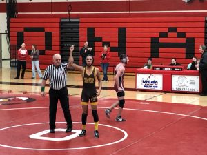 Wrestling at Onaway Team Districts 2/6/19