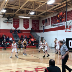 Boys Varsity Basketball beats Onaway 92 – 66