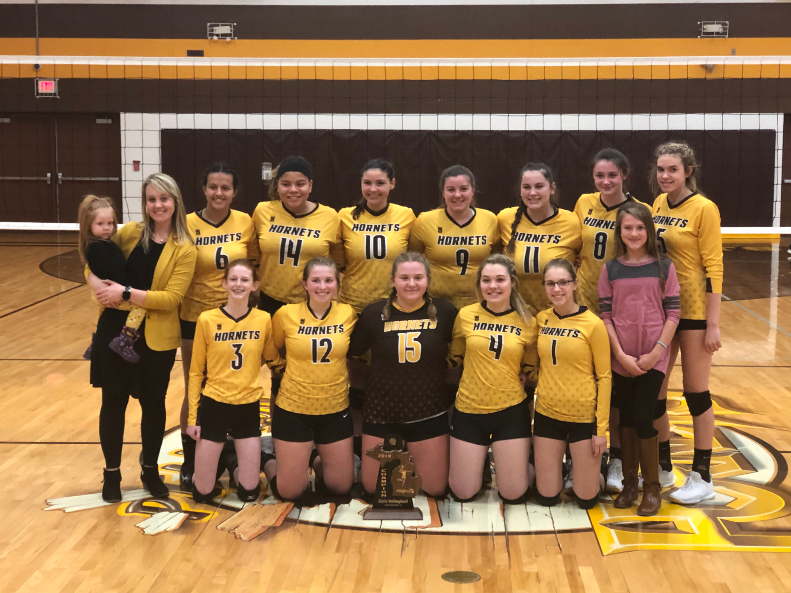 Pellston Volleyball Claims 13th Straight District