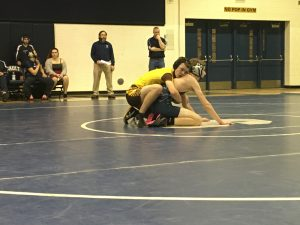 Wrestling at Sault Ste Marie