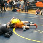 Wrestling at Kingsley Team Tournament