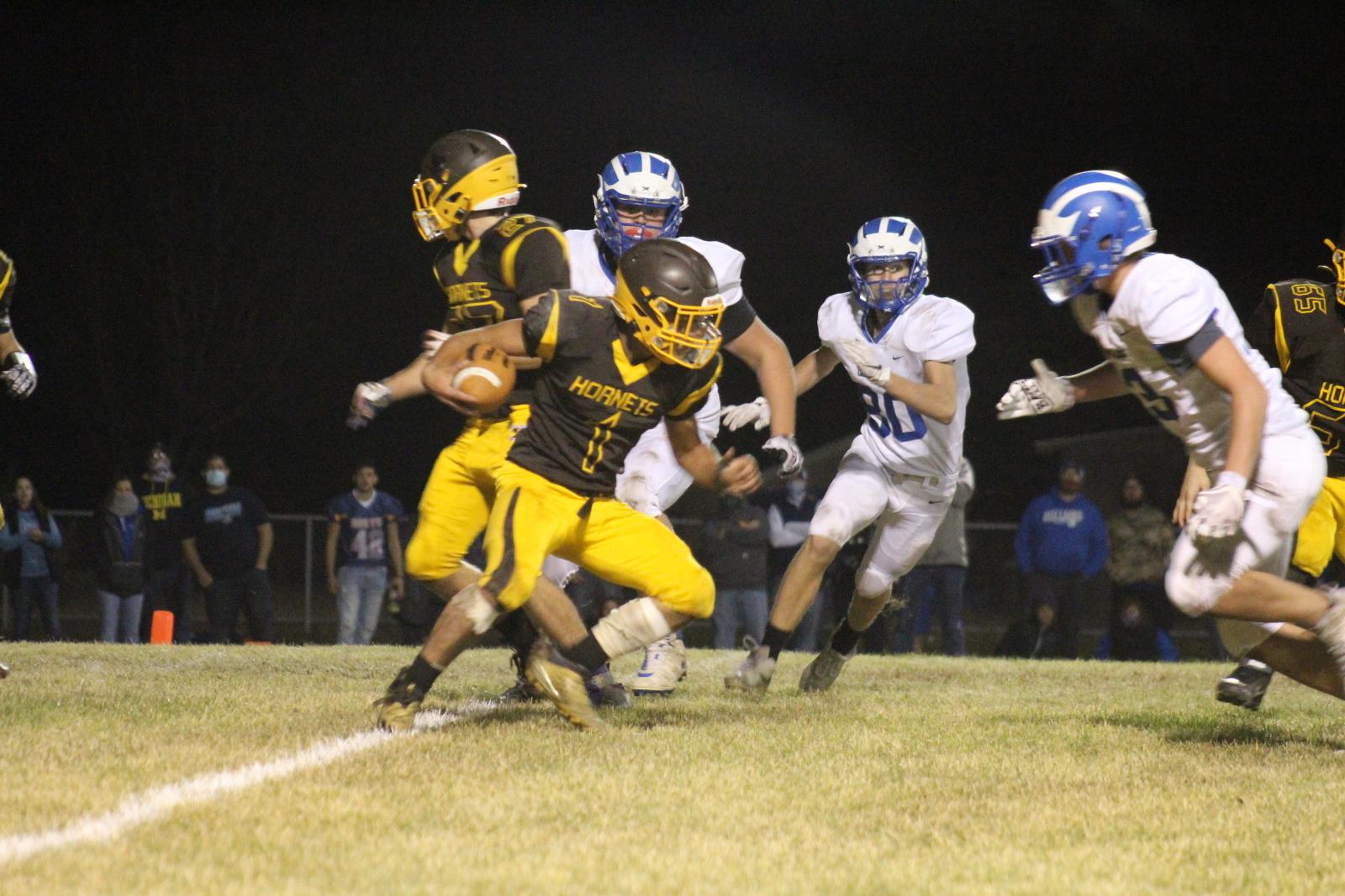 Photos: Football vs Inland Lakes Playoffs 11/6/20