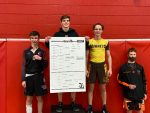 Pellston Wrestlers At Individual Districts, 2 Advance