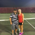 Ashtyn Morris Advances to Districts in Girls Tennis