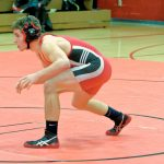 Salem High School Boys Varsity Wrestling falls to Marlington High School 50-29