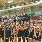 Salem High School Girls Varsity Basketball falls to Minerva High School 48-32