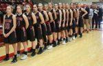 Girls Varsity Basketball falls to South Range 53 – 38