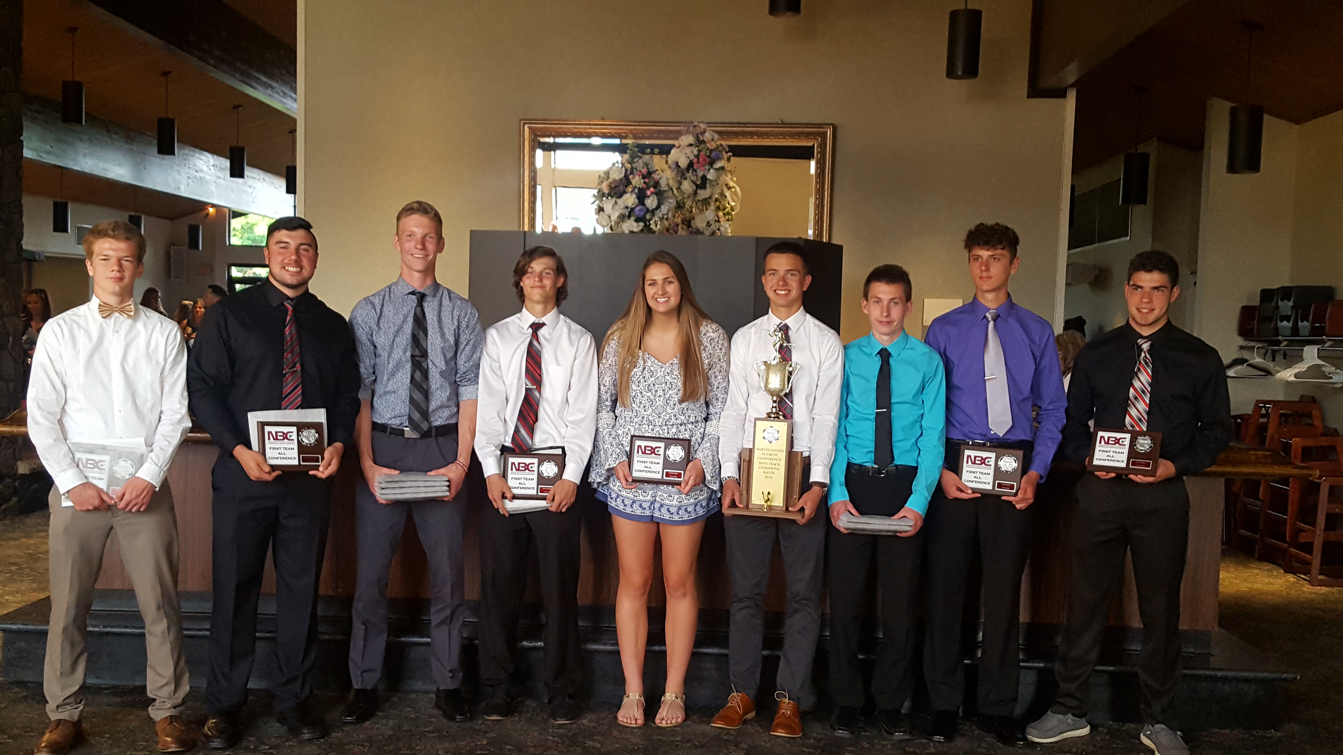 Congrats to our boys and girls earning All-NBC Spring Honors