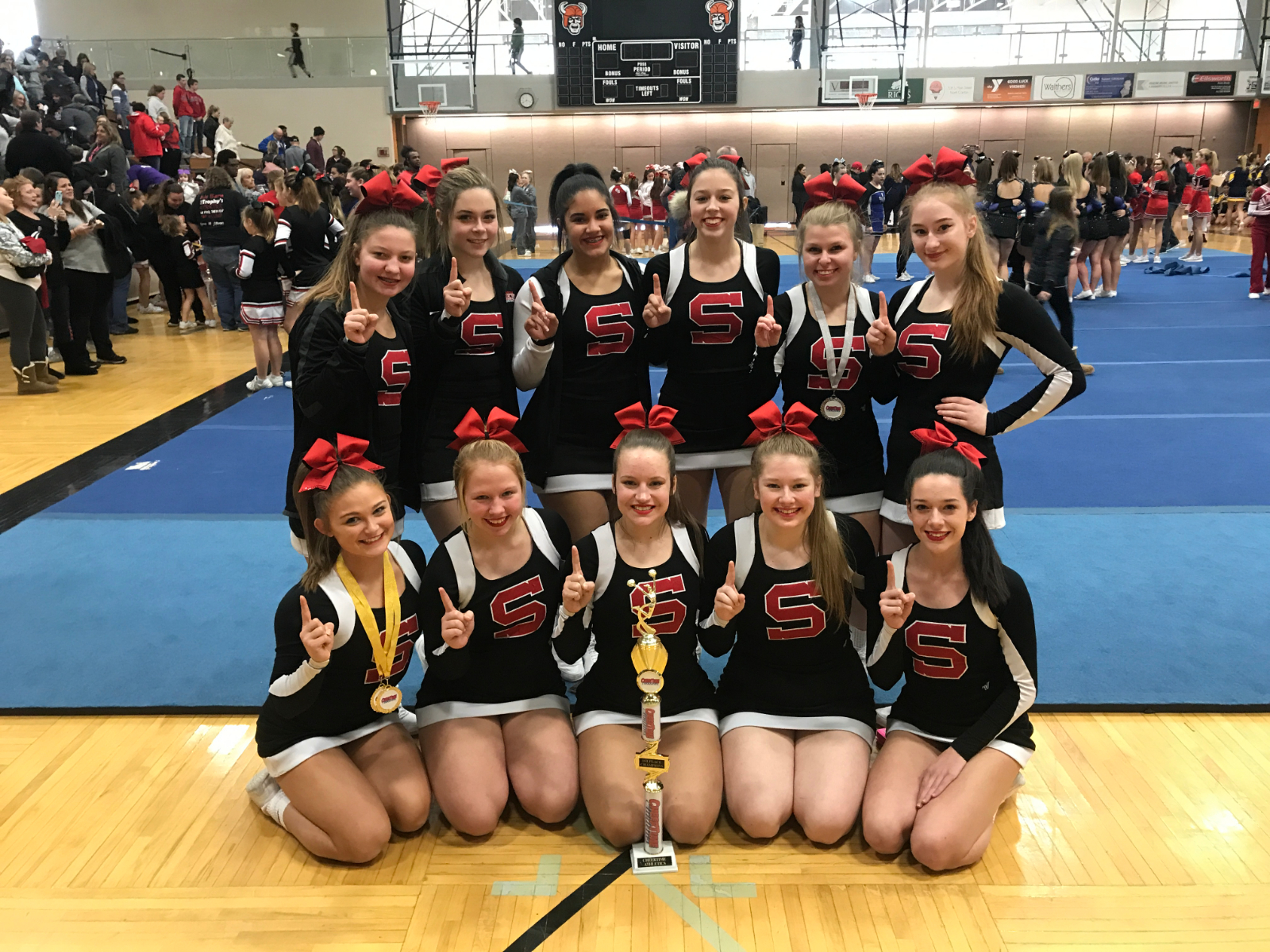 Cheer Team Named Grand Champions