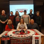 Jeric signs with La Roche College
