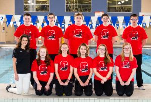 2018-2019 Salem Swim Team