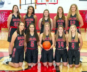 2018-2019 Salem Girls Basketball Team