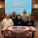 Castles Signs with Thiel College