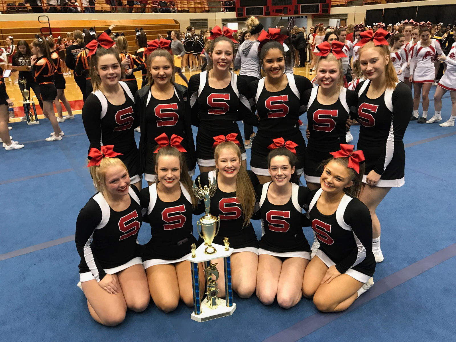Salem Cheer Finishes 3rd