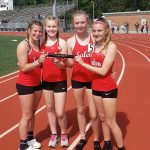 JH Girls Track Compete at State Meet