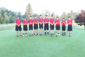 2019 Salem Boys Golf Team