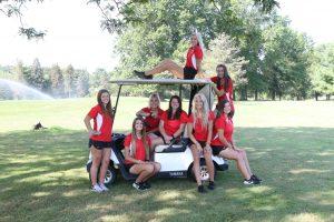 2019 Salem Girls Golf Team