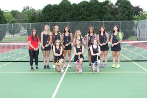 2019 Salem Girls Tennis Team