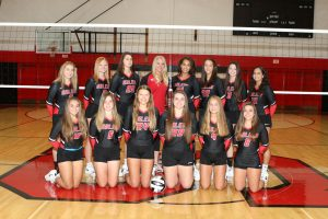 2019 Salem Varsity Volleyball Team