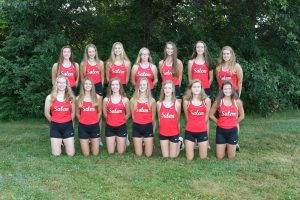 2019 Salem Girls Cross Country Team