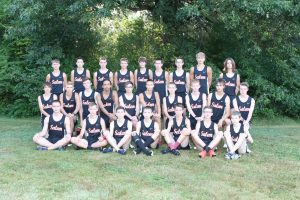 2019 Salem Boys Cross Country Team