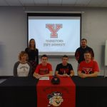 Hunter Christopher Signs with YSU