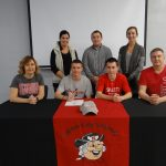 Christopher Signs with Otterbein
